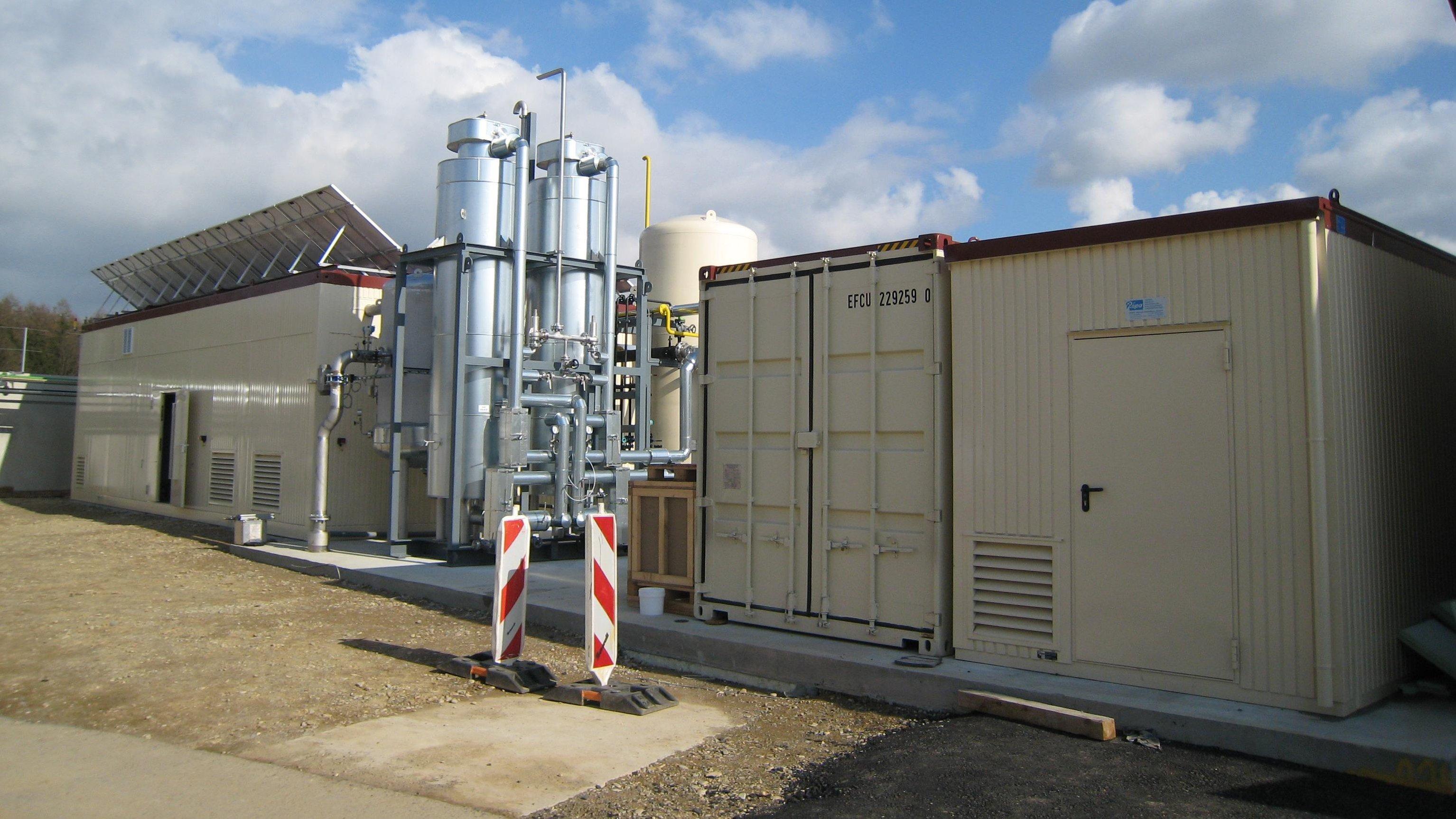 Foto: GEVA - Biogas-Einspeisung